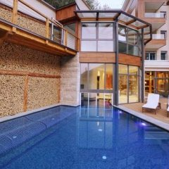 Отель Quellenhof Luxury Resort Passeier Сан-Мартино-ин-Пассирия бассейн фото 2