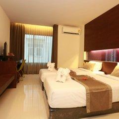 Отель The Bangkok Airport Link Suite комната для гостей