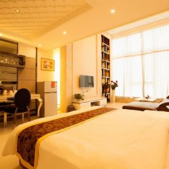 Апартаменты Hakka International Apartment Beijing Rd комната для гостей фото 3