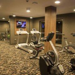Отель Holiday Inn Krakow City Centre Польша, Краков - 4 отзыва об отеле, цены и фото номеров - забронировать отель Holiday Inn Krakow City Centre онлайн фитнесс-зал фото 4