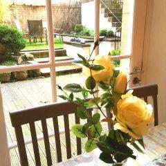 Апартаменты Charlotte Sq. Apartment Private Garden Эдинбург балкон