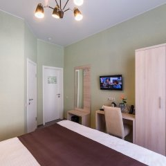 Отель Гостика Москва комната для гостей фото 5