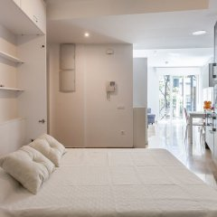 Апартаменты Kirei Apartment Na Jordana комната для гостей фото 2