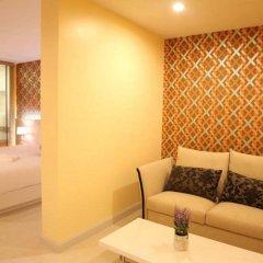 Апартаменты Trebel Service Apartment Pattaya Паттайя комната для гостей фото 4