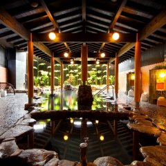 Hotel Kannawa Беппу гостиничный бар