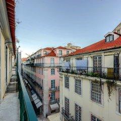 Hotel Duas Nações Лиссабон балкон