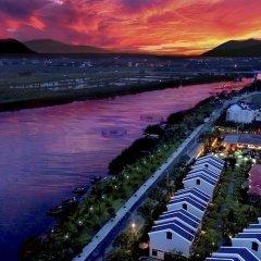 Отель Silk Sense Hoi An River Resort пляж фото 2