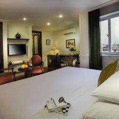 Отель Hanoi Boutique Hotel & Spa Вьетнам, Ханой - отзывы, цены и фото номеров - забронировать отель Hanoi Boutique Hotel & Spa онлайн комната для гостей фото 3