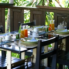Отель Chaw Ka Cher Tropicana Lanta Resort питание