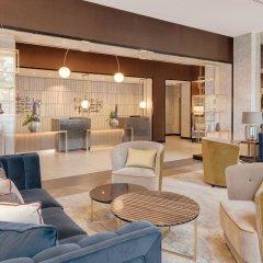 Отель Hilton Munich City Германия, Мюнхен - 9 отзывов об отеле, цены и фото номеров - забронировать отель Hilton Munich City онлайн интерьер отеля фото 2