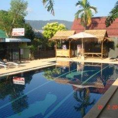 Отель Nid's Bungalows бассейн фото 2
