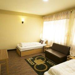 Отель Aarya Chaitya Inn Непал, Катманду - отзывы, цены и фото номеров - забронировать отель Aarya Chaitya Inn онлайн комната для гостей фото 4