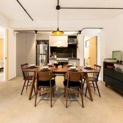 Отель Cozy & Hip Roma Apt With 2 Private Terraces! Мехико фото 10