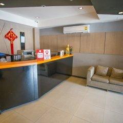 Отель Nida Rooms Yanawa Sathorn City Walk Бангкок интерьер отеля