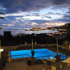 Отель Quinta Bela Sao Tiago Португалия, Фуншал - отзывы, цены и фото номеров - забронировать отель Quinta Bela Sao Tiago онлайн бассейн