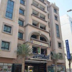 Отель Golden Tulip Al Barsha парковка