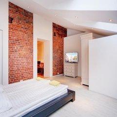 Апартаменты Stn Apartments Near Hermitage Стандартный номер с различными типами кроватей фото 27