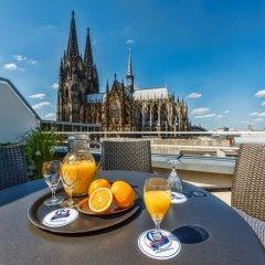 Отель CityClass Hotel Europa am Dom Германия, Кёльн - 1 отзыв об отеле, цены и фото номеров - забронировать отель CityClass Hotel Europa am Dom онлайн балкон