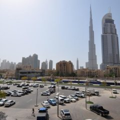 Отель Kennedy Towers - Burj Views Дубай парковка