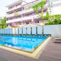 Отель New Siam Palace Ville бассейн