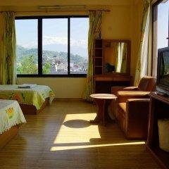 Отель Trekkers Inn Непал, Покхара - отзывы, цены и фото номеров - забронировать отель Trekkers Inn онлайн сейф в номере