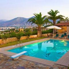 Отель Aegean Blue Villa бассейн фото 2