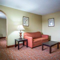 Отель Quality Inn And Suites Monroe комната для гостей