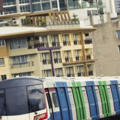 Отель Richly Villa Бангкок балкон