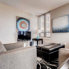 Отель Global Luxury Suites at Woodmont Triangle South США, Бетесда - отзывы, цены и фото номеров - забронировать отель Global Luxury Suites at Woodmont Triangle South онлайн комната для гостей фото 2