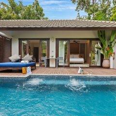 Отель Outrigger Koh Samui Beach Resort Таиланд, Самуи - отзывы, цены и фото номеров - забронировать отель Outrigger Koh Samui Beach Resort онлайн бассейн фото 2
