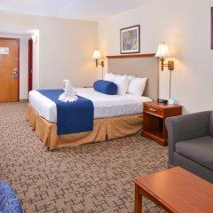 Отель Comfort Inn & Suites Downtown Tacoma США, Такома - отзывы, цены и фото номеров - забронировать отель Comfort Inn & Suites Downtown Tacoma онлайн комната для гостей фото 3