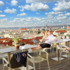 Wenceslas Square Hotel Прага гостиничный бар