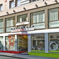 Отель Viennart Am Museumsquartier Вена вид на фасад