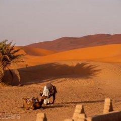 Отель Kasbah Mohayut Марокко, Мерзуга - отзывы, цены и фото номеров - забронировать отель Kasbah Mohayut онлайн пляж фото 2