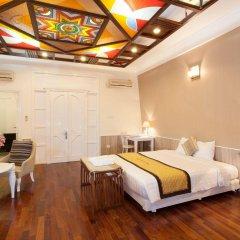 Hanoi Old Quarter Hotel комната для гостей фото 4