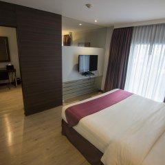 Отель Sukhumvit Suites комната для гостей фото 2