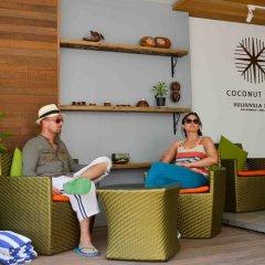 Отель Coconut Tree Hulhuvilla Beach Мале интерьер отеля фото 3