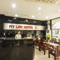 Отель My Lan Hanoi Hotel Вьетнам, Ханой - отзывы, цены и фото номеров - забронировать отель My Lan Hanoi Hotel онлайн интерьер отеля фото 2