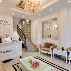 Отель Hanoi Focus Boutique Hotel Вьетнам, Ханой - 1 отзыв об отеле, цены и фото номеров - забронировать отель Hanoi Focus Boutique Hotel онлайн интерьер отеля