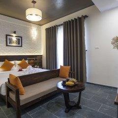 Отель Hoi An Silk River Villa комната для гостей