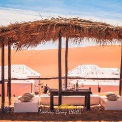 Отель Luxury Camp Chebbi Марокко, Мерзуга - отзывы, цены и фото номеров - забронировать отель Luxury Camp Chebbi онлайн пляж фото 2