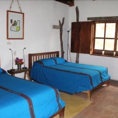 Hotel Hacienda San Lucas Копан-Руинас комната для гостей