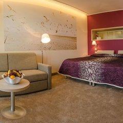 Отель Панорама Болгария, Албена - отзывы, цены и фото номеров - забронировать отель Панорама онлайн комната для гостей фото 3