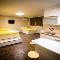 YaKorea Hostel Hongdae комната для гостей фото 3