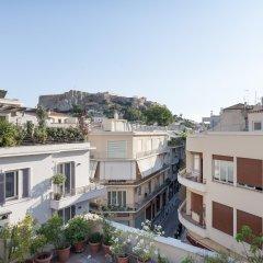 Отель Lux apt w/ Acropolis view Афины балкон