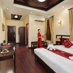 Отель Hanoi Posh Hotel Вьетнам, Ханой - отзывы, цены и фото номеров - забронировать отель Hanoi Posh Hotel онлайн комната для гостей фото 4