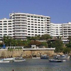 Отель Caleta Beach Resort Мексика, Акапулько - отзывы, цены и фото номеров - забронировать отель Caleta Beach Resort онлайн пляж фото 2
