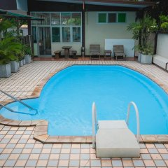 Отель Ruamchitt Travelodge Бангкок бассейн фото 2
