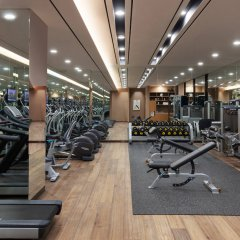 Отель Courtyard by Marriott Seoul Namdaemun Южная Корея, Сеул - отзывы, цены и фото номеров - забронировать отель Courtyard by Marriott Seoul Namdaemun онлайн фитнесс-зал фото 3
