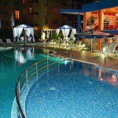 Отель Amaris Болгария, Солнечный берег - отзывы, цены и фото номеров - забронировать отель Amaris онлайн бассейн фото 3